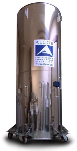 Capsula crionica dell'americana Alcor.