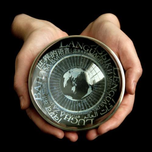 Il disco realizzato dal Rosetta Project della Long Now Foundation.