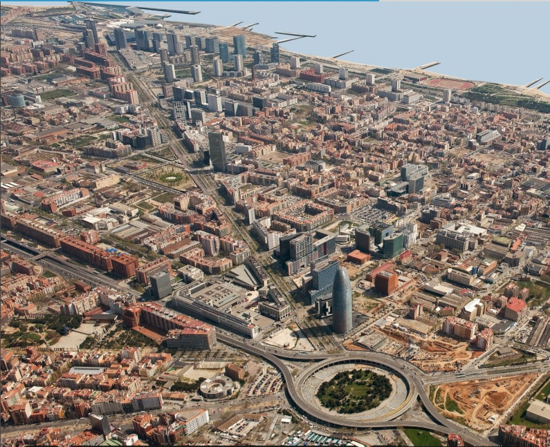 Il progetto urbanistico per il distretto dell'innovazione 22@Barcelona.