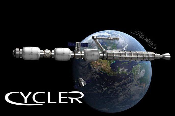 Figure 2 – Una possibile configurazione per il Lunar Cycler.